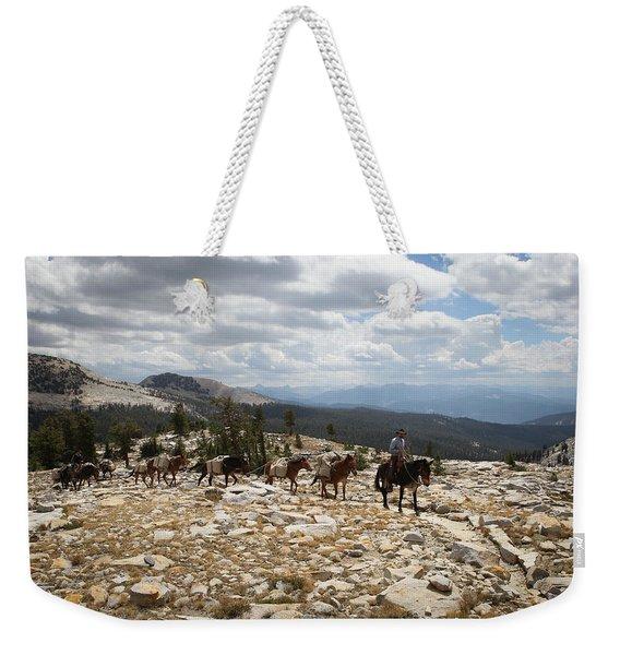 Sierra Trail Weekender Tote Bag