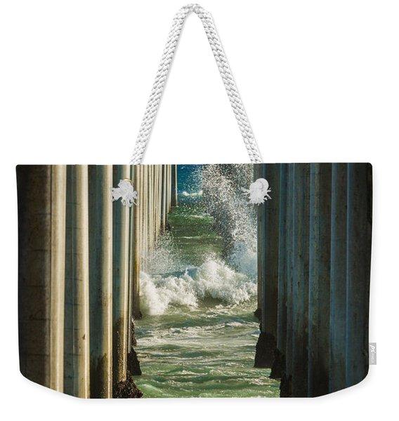 Sign Wave Weekender Tote Bag
