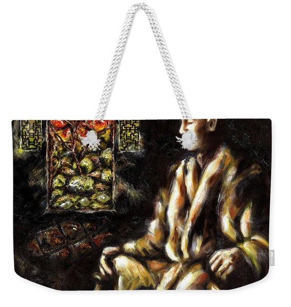 Silence Weekender Tote Bag