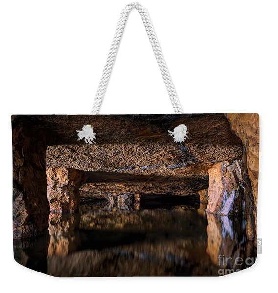 Silence Within Weekender Tote Bag