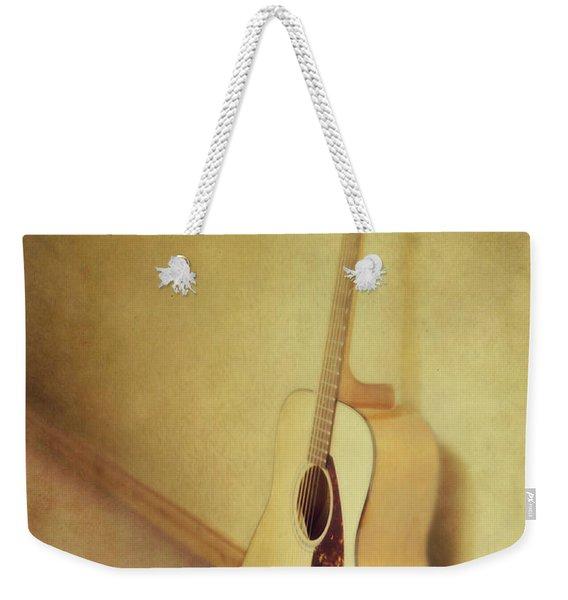Silent Guitar Weekender Tote Bag