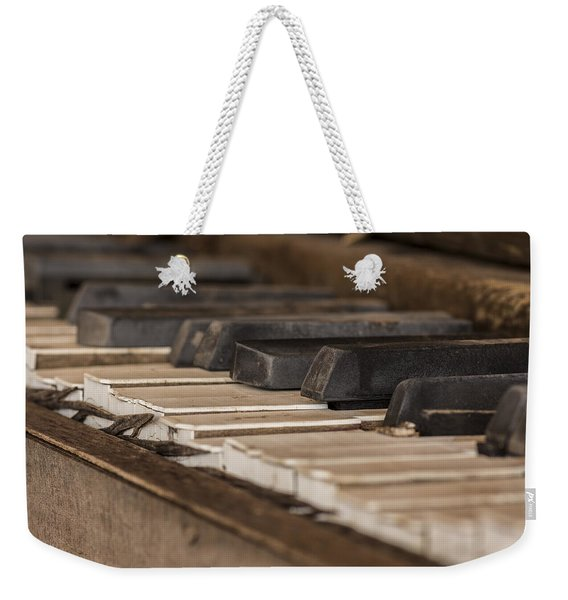 Silent Keys Weekender Tote Bag