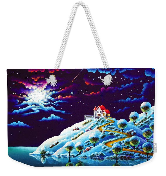 Silent Night 9 Weekender Tote Bag