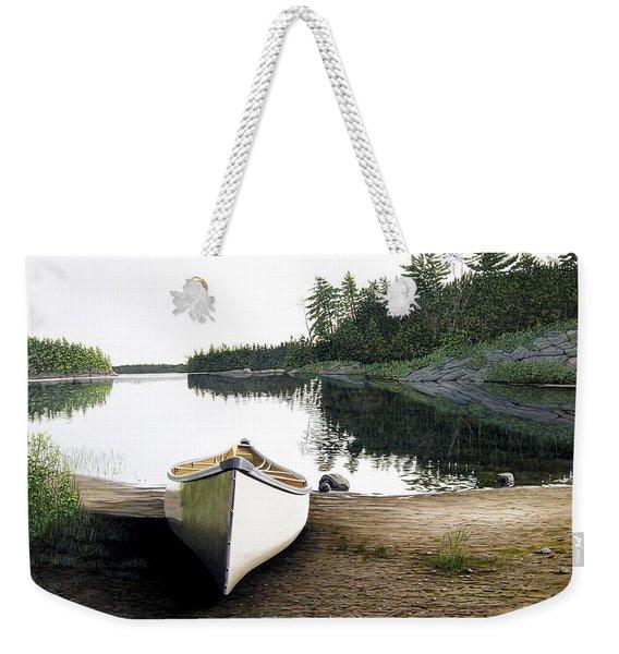 Silent Retreat Weekender Tote Bag