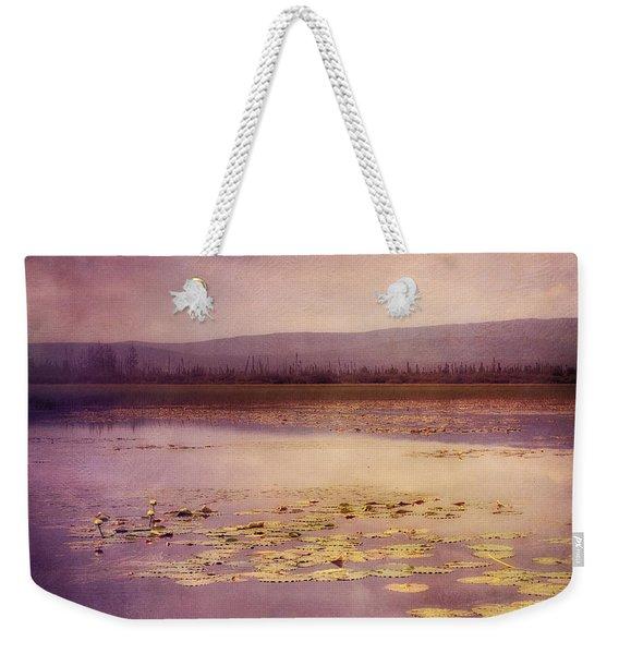 Silent Water  Weekender Tote Bag