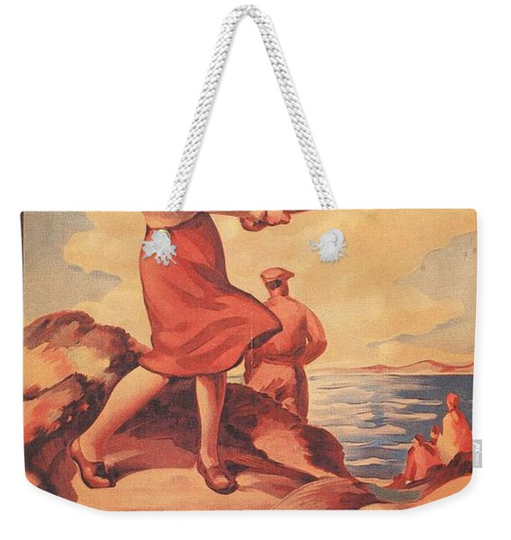 Silloth On The Solway, Advertisement Weekender Tote Bag