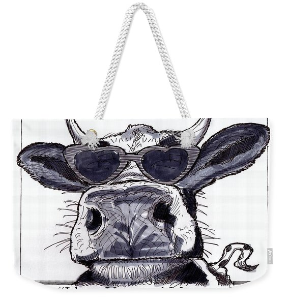 Silly Cow From Vermont Weekender Tote Bag