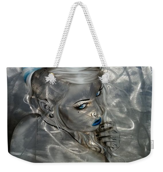 Silver Flight Weekender Tote Bag