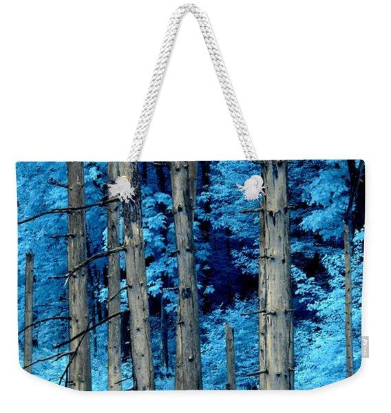 Silver Trees Weekender Tote Bag