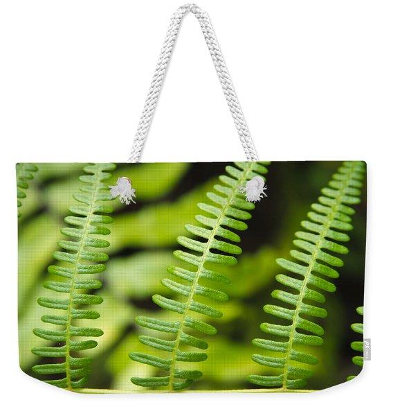 Simple Green Weekender Tote Bag
