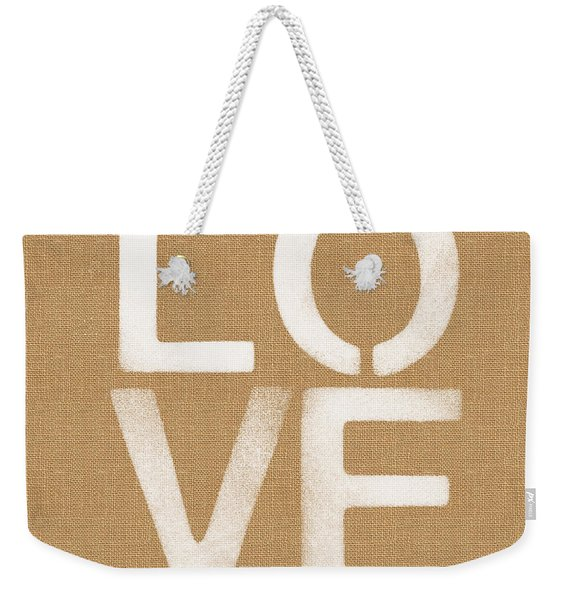 Simple Love Weekender Tote Bag