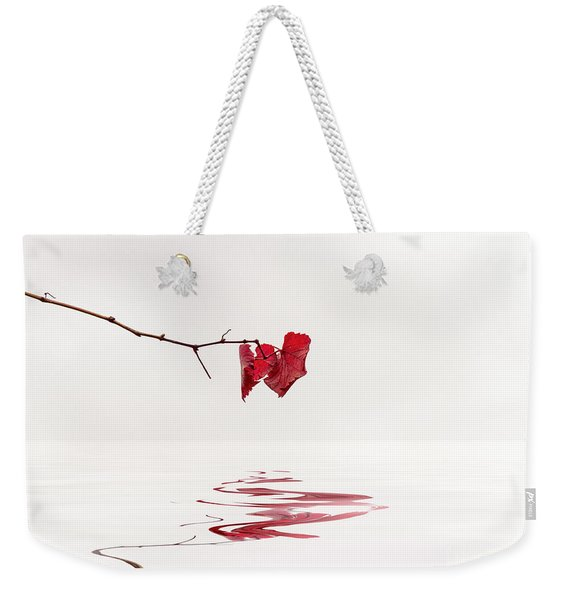Simply Leaves Weekender Tote Bag