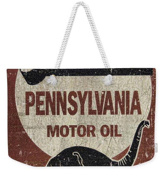 Sinclair Motor Oil Can Weekender Tote Bag