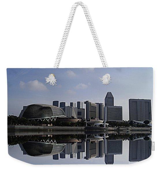 Singapore 15 Weekender Tote Bag