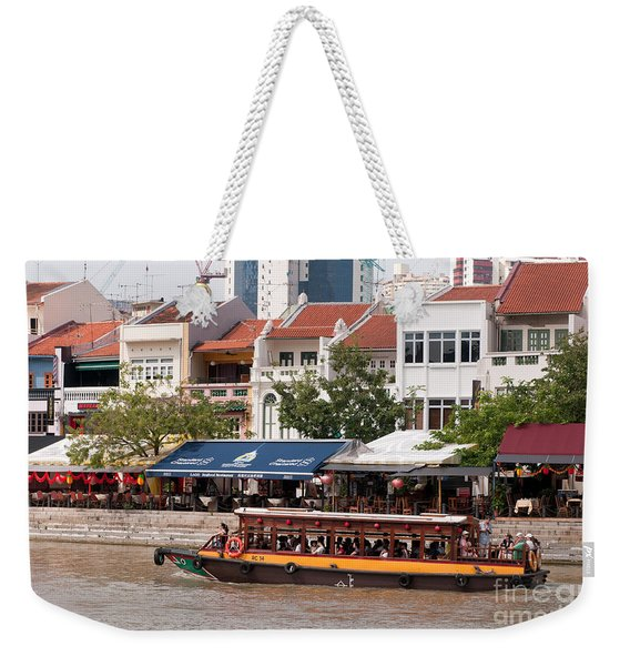 Singapore Boat Quay 04 Weekender Tote Bag