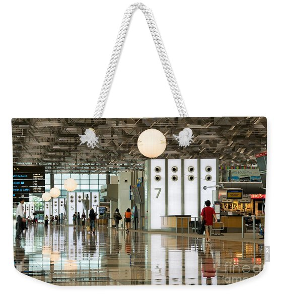 Singapore Changi Airport 02 Weekender Tote Bag