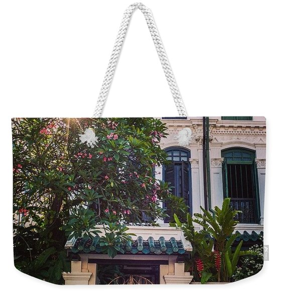 Singapore Traditional Houses Weekender Tote Bag