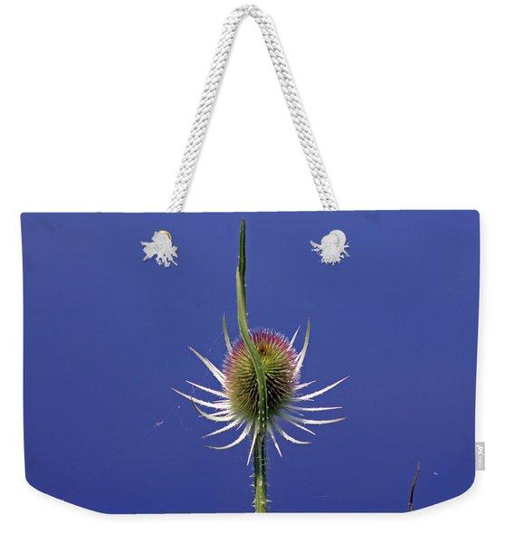 Single Teasel Weekender Tote Bag