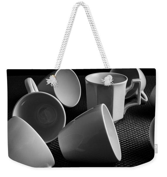 Singled Out - Coffee Cups Weekender Tote Bag