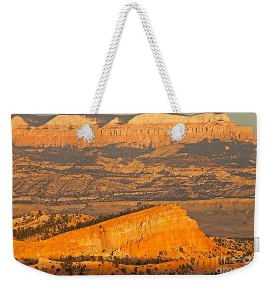 Sinking Ship Sunset Point Bryce Canyon National Park Weekender Tote Bag