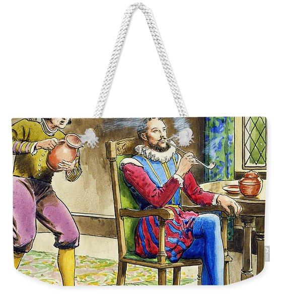 Sir Walter Raleigh From Peeps Weekender Tote Bag
