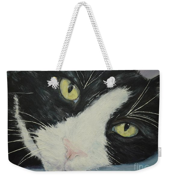 Sissi The Cat 1 Weekender Tote Bag