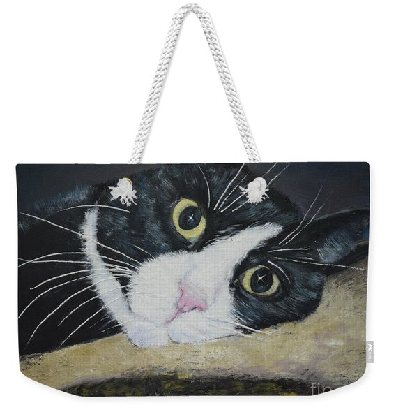 Sissi The Cat 3 Weekender Tote Bag