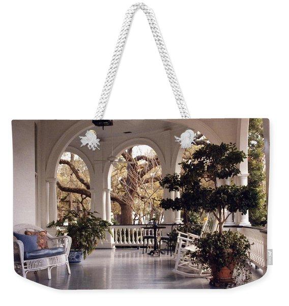 Sit-a-spell Weekender Tote Bag