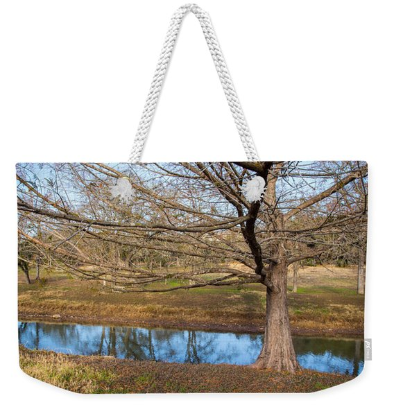 Weekender Tote Bag featuring the photograph Sit And Dream by John Wadleigh