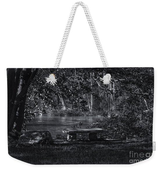 Sit And Ponder Weekender Tote Bag