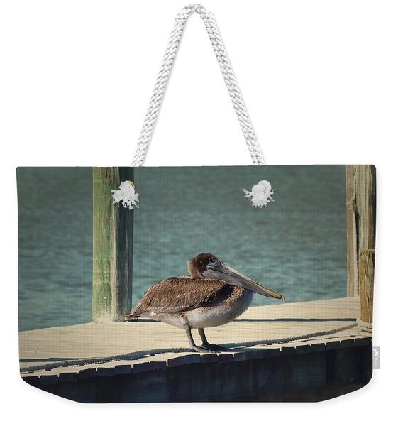 Sitting On The Dock Of The Bay Weekender Tote Bag