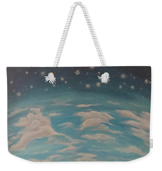 Sitting On Top Of The World Weekender Tote Bag