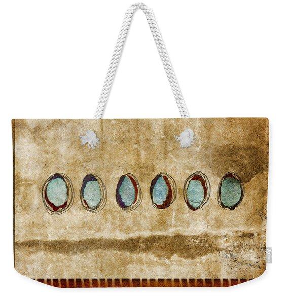 Six Turquoise Moons Weekender Tote Bag