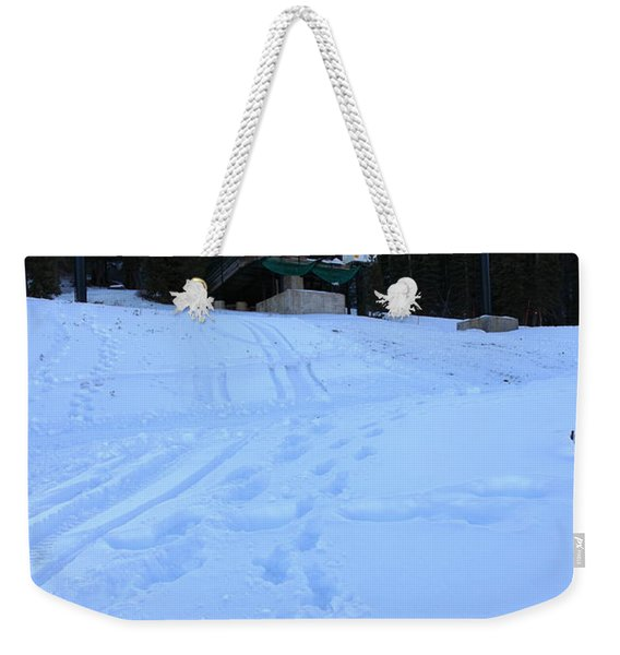 Ski Lifts At Squaw Valley Usa 5d27633 Weekender Tote Bag