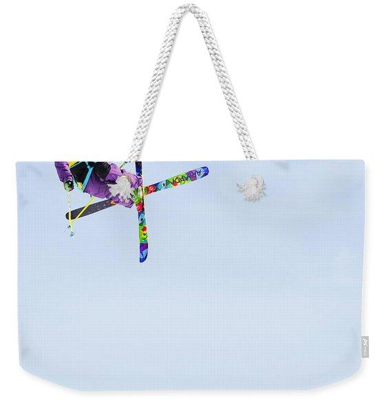 Ski X Weekender Tote Bag