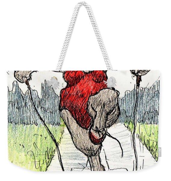 Skipping Rope Weekender Tote Bag