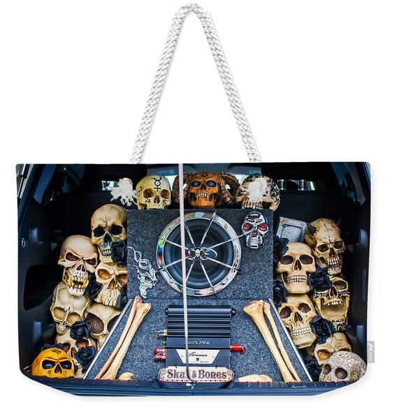 Skull And Bones - Pt Cruiser Weekender Tote Bag