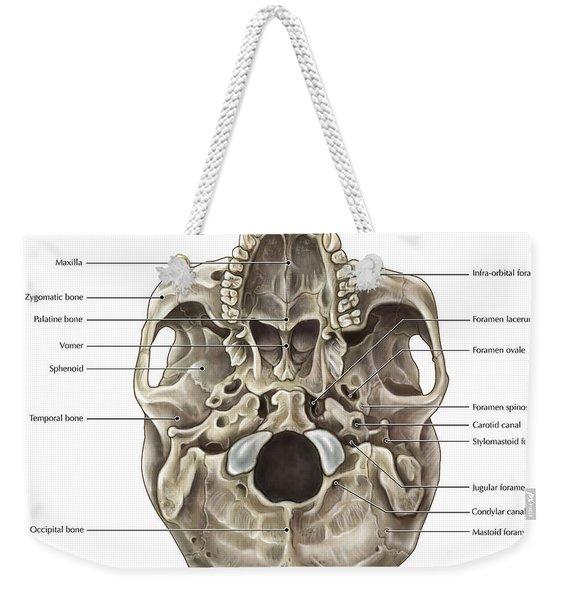 Skull Inferior View Weekender Tote Bag