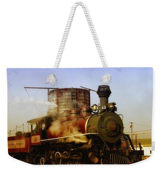 Skunk Train Weekender Tote Bag