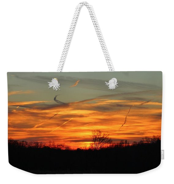 Sky At Sunset Weekender Tote Bag