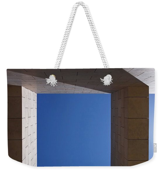 Sky Box At The Getty  Weekender Tote Bag