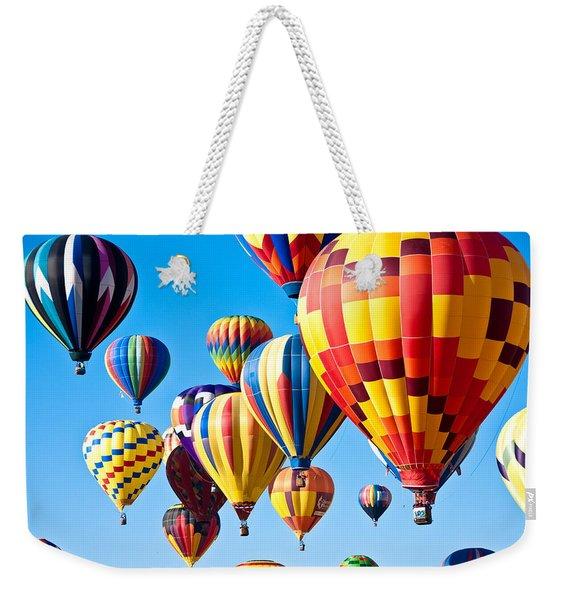 Sky Of Color Weekender Tote Bag