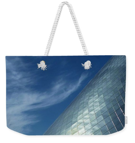 Weekender Tote Bag featuring the photograph Sky Shine by Patricia Strand