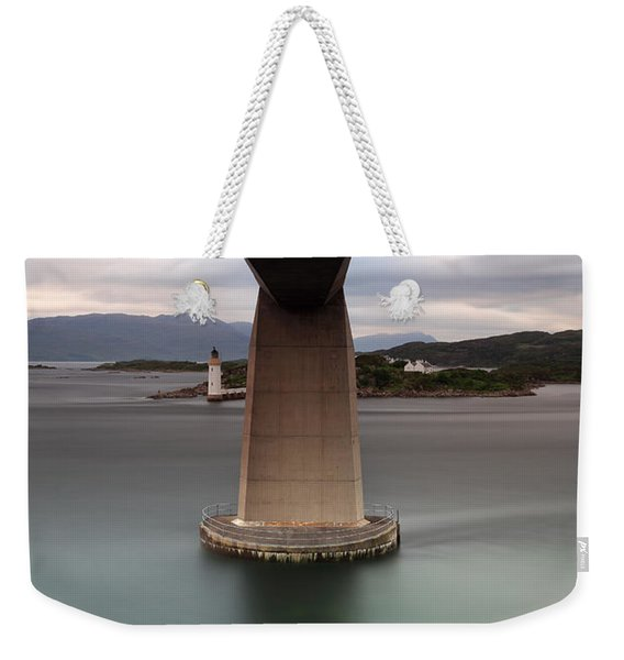 Skye Bridge At Sunset Weekender Tote Bag