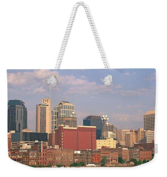 Skyline Nashville Tn Weekender Tote Bag