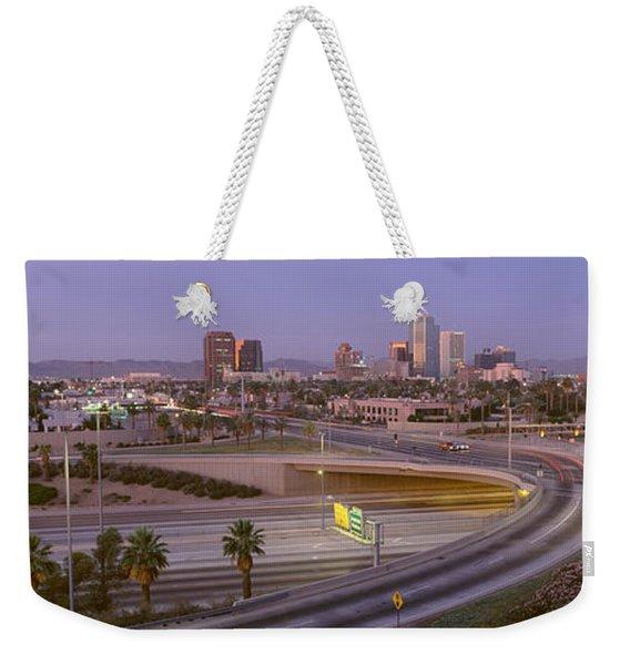 Skyline Phoenix Az Usa Weekender Tote Bag