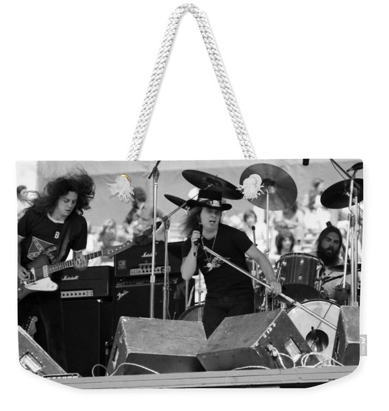 Skynyrd #8 Weekender Tote Bag