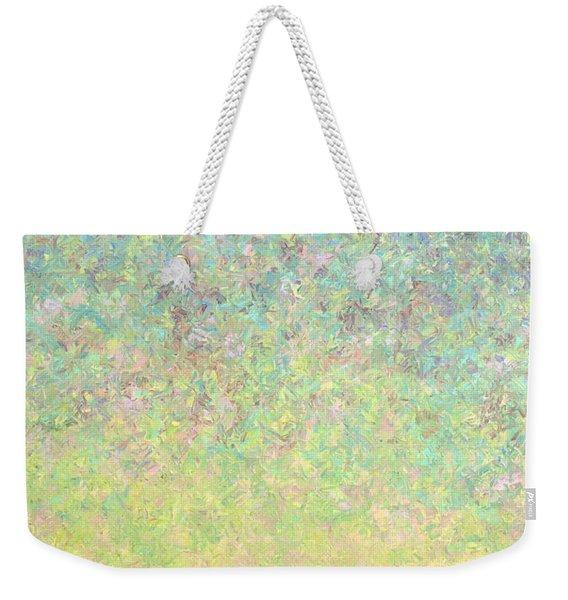 Skywatching In A Painting Weekender Tote Bag