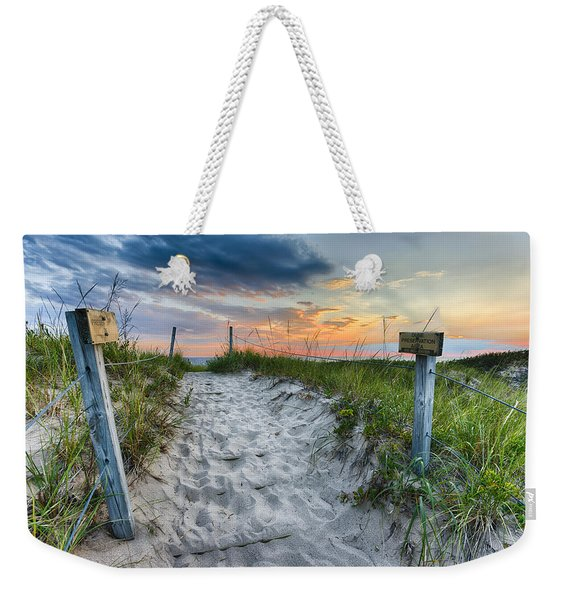 Sleeping Bear National Lakeshore Sunset Weekender Tote Bag