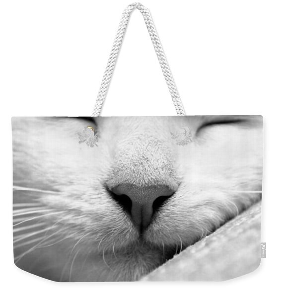 Sleeping Kitten Weekender Tote Bag
